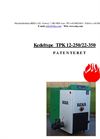 Kedeltype - TPK 12-250/22-350 - Boiler Manual