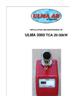 Ulma - 3000 TCA - Pellet Burner Manual
