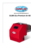ULMA - Model Eco Premium Air 90 kW - Pellet Burner - Brochure