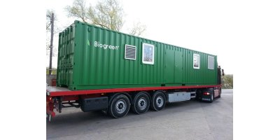 Mobile Containerised Pyrolysis Unit