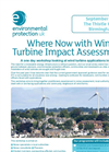 Where Now with Wind Turbine Impact Assessment? - Flyer Brochure