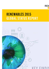 Renewables 2015 - Global Status Report Brochure