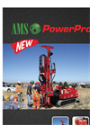AMS PowerProbe - Model 9580-VTR - Auger and Hammer System - Datasheet