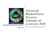 Calendar of Advanced Biofuel Events for the year 2016