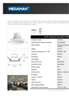 Model 517462 - LED Integrated Downlights Brochure