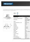Model 191962 - LED Integrated Downlights Brochure