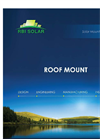 RBI - Non-Penetrating Roof Mount Solar Systems Brochure