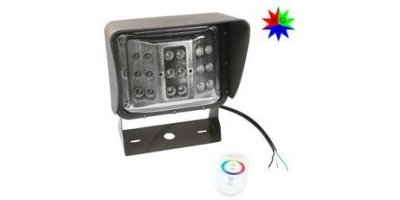 Larson - Model LEDWP-600-RGB - Color Changing LED Wall Pack Light