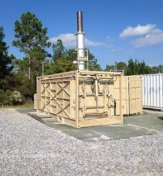 Dynamis Energy Announces Delivery of Portable Waste Gasification Unit to the U.S. Air Force