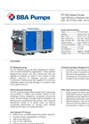 BBA Pumps - Model PT150 D180 Diesel Driven