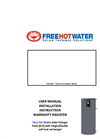 Solar Storage Tank Installation Manual
