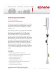 ennox ECO Manual Gas Flare - Brochure