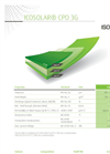 Icosolar - Model CPO 3G - Backsheets for Polyolefin Modules Brochure