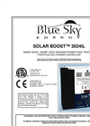 Solar Boost 3024iL Installation and Operation Manual