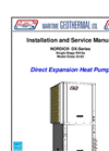 Direct Expansion Heat Pump DX Series - Brochure