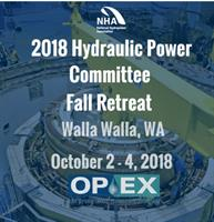 Hydraulic Power Committee (HPC) Fall Retreat & NWHA Technical Conference 2018