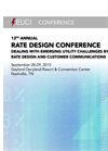 13th Annual Rate Design Conference 2015 - Brochure