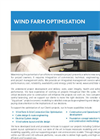 Wind Farm Optimisation Services- Brochure