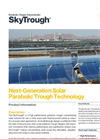 SkyTrough - Utility-Grade Solar-Thermal Power Plants Brochure
