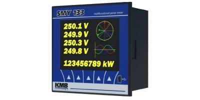 Model SMY 133 - 3-Phase Multimeter and Data Logger