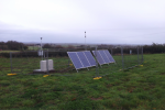 Off-Grid Solar Powered Air Quality Monitoring System