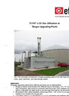 LOX - LCV Gas Utilization at  Biogas Upgrading Plants - Brochure