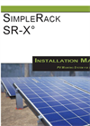 SimpleRack - Model SR-X - Rail Free Mounting System - Manual