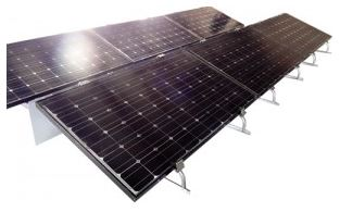 Model G4ce - Ballast  Flat Roof System for Solar Photovoltaic Installations