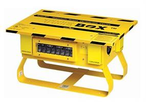 The Box - Model PB101-SGF - Temporary Portable Power Distribution Center
