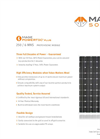 Photovoltaic Modules 250 MNS