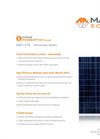 Photovoltaic Modules 240 / 6 PL