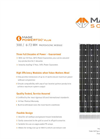 Photovoltaic Modules 300 / 6-72MH