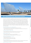 Concentrator Photovoltaic System SF-1100S