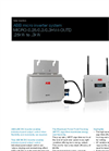 MICRO-0.25/0.3/0.3HV-I-OUTD .25kW to .3kW ABB Micro Inverter System Brochure