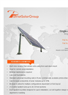 Single Axis Tracking Solar Mount - Brochure