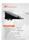 Model 2.4KW - Solar Trailers - Mobile Charging Unit - Brochure