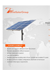 PSG - Fixed Pole Solar Mount Systems - Brochure