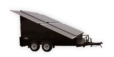 PSG - Model 2.4KW - Solar Photovoltaic Panels Trailers