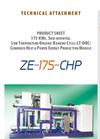 Model CHP-Series - Organic Rankine Cycle Modules Brochure