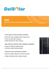 Mono-like Multi-Crystalline Photovoltaic Cell D6V