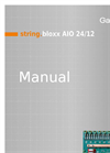 Model string.bloxx AIO 24/12 - String Monitoring System - Manual