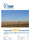 Model DW52/54 - 900kW - Wind Turbine Brochure