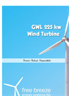 Wind Turbine GWL 225kW Specification