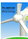 Model PS1800 - 1800kW Wind Turbine Brochure