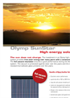 Olymp SunStar - High Energy Solar Tubes Brochure