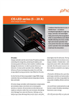 Solar Charge Controller CIS-LED series (5 – 20 A)