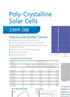 Poly-Crystalline Solar Cell 156M-2BB