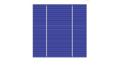 Model 156M-2BB - Poly-Crystalline Solar Cell