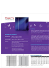 6 Mono-Like C-Si Solar Cell-2 Bus Bars TSN62TN