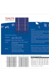 6 Multi C-Si Solar Cell TSM62TN